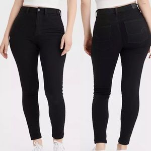 AE Curvy Super High-Waisted Jegging Crop Jeans